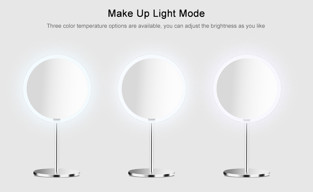 Yeelight YLGJ01YL Portable LED Makeup Mirror with Light for Table Decoration- Silk White