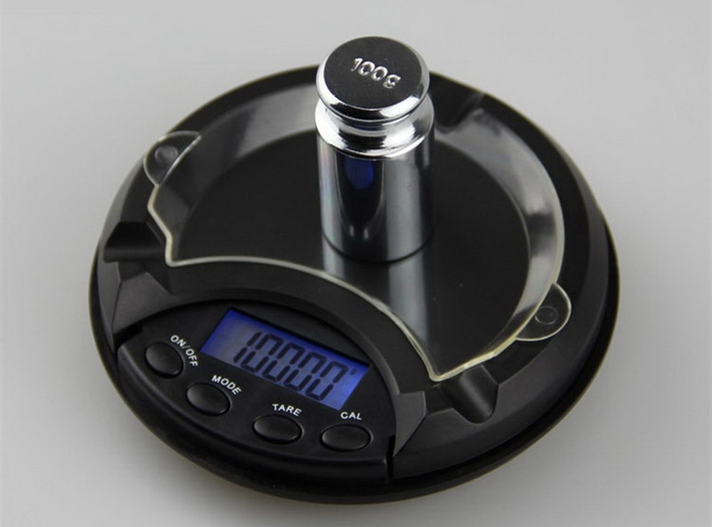 500g x 0.1g LCD Digital Jewelry Scale for Gold Sterling Silver- Black