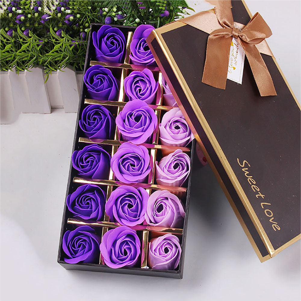 Rose Gift Set Fashion Gift Set 18 Pieces- Red 23*12*4.8cm