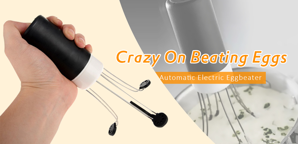 Triangular Automatic Electric Eggbeater