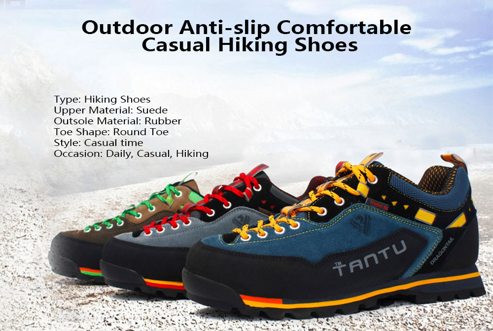 Hiking Shoes Outdoor Non-Slip Breathable Shoes Off-Road wear Hiking Men and Women Running shoes-colour2-39