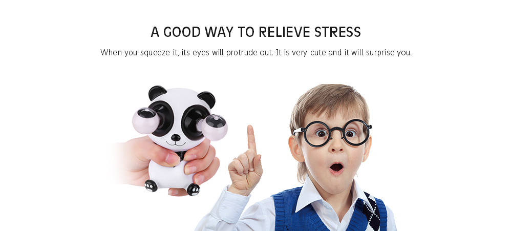 Image result for eye squeeze stress reliever toy gif zombie