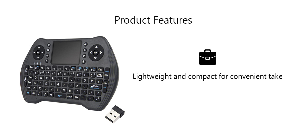 Calvas With Receiver Remote Control High Stability Wireless Plug And Play Sensor Handheld TV BOX Professional 2.4G Keyboard Air Mouse