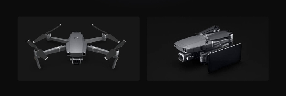 DJI MAVIC 2 Pro RC Drone with 1 inch CMOS Sensor Hasselblad Camera- Gray DJI MAVIC 2 PRO Only