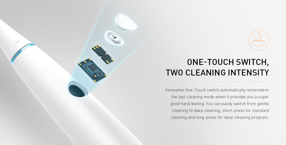 Oclean Air Rechargeable Sonic Electrical Toothbrush Intelligent APP Control with Pressure Sensitive Button from Xiaomi-