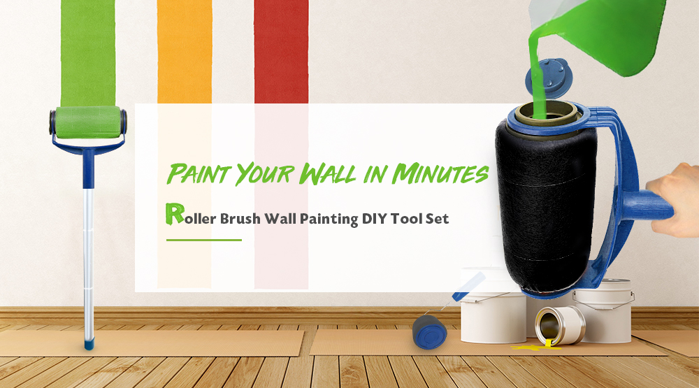Hot Sale Paint Roller Very High-Quality Multifunctional Brush Wall Decorative