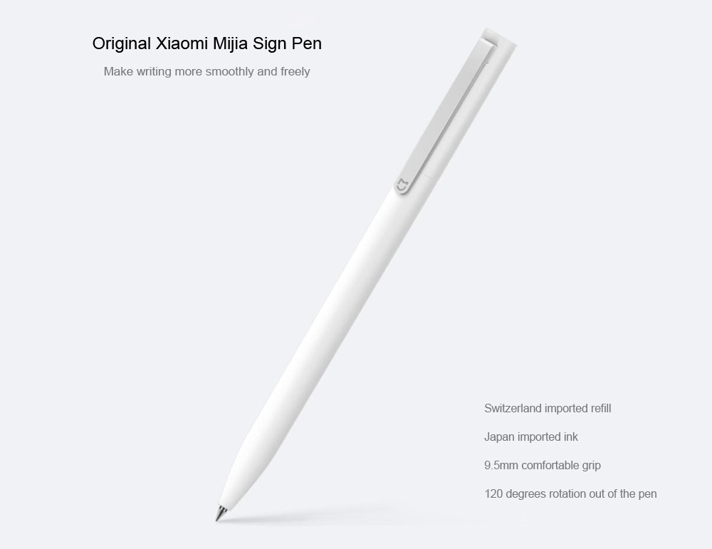 Xiaomi Mijia 0.5mm Signing Gel Pen- White
