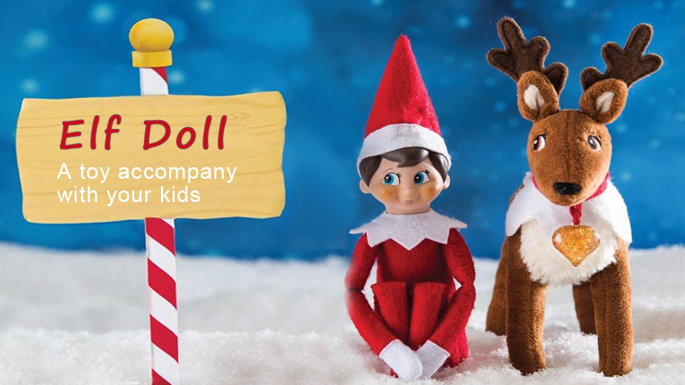 Elf Doll Plush Toy Multi Colors Christmas Gift for Kids - $2.99 Free ...