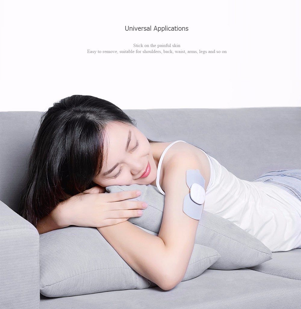 LERAVAN Electrical TENS Pulse Therapy Massage Machine Acupuncture Snap-on Electrode Pads Body Patch from Xiaomi youpin- Platinum