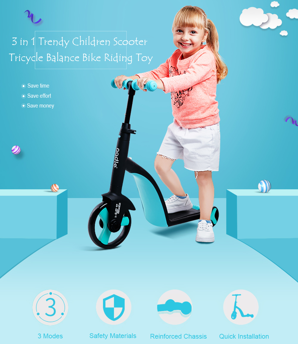 Children 3 in 1 Scooter