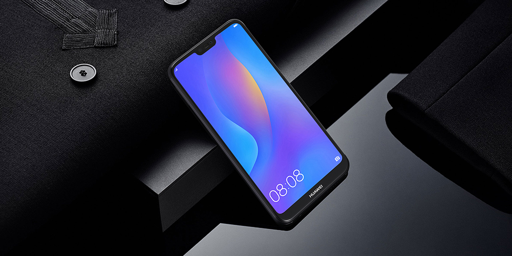 HUAWEI P20 Lite 4G Phablet 5.84 inch Android 8.0 Kirin 659 Quad Core 2.36GHz 4GB RAM 64GB ROM 24.0MP Front Camera Fingerprint Sensor 3000mAh Built-in- Black