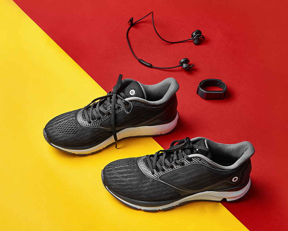 the best attitude 5c420 4463f Breathable Anti-slip Running Athletic Shoes for Couple from Xiaomi Youpin-  Black 40
