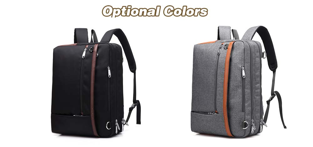 6361a95b8518 coolbell Multifunctional Business Laptop Shockproof Backpack for Men- Gray
