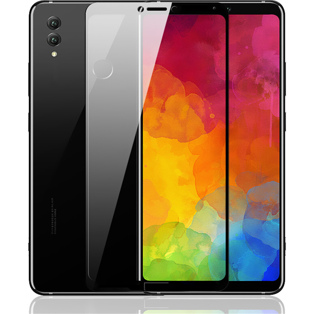 Tempered Glass Full Screen Protector for Huawei Note 10- Black