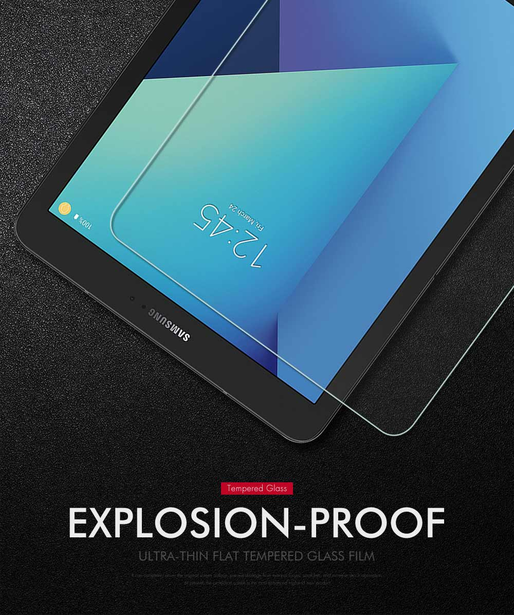 """9H Tempered Glass Skin Screen Protector For Samsung Galaxy Tab S3 T820//T825 9.7/"""""""