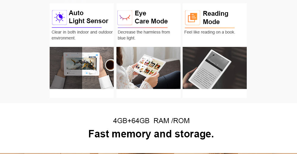 Teclast T20 4G Phablet Android 7.0 10.1 inch MT6797X ( X27 ) Deca Core 4GB RAM 64GB eMMC ROM Fingerprint Recognition 13.0 MP Double Cameras Bluetooth 4.0 Type-C Dual WiFi- Silver