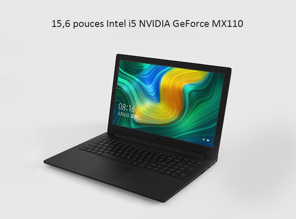 15,6 pouces Windows 10 4G DDR4 128Go SSD 1To HDD- Dark Gray