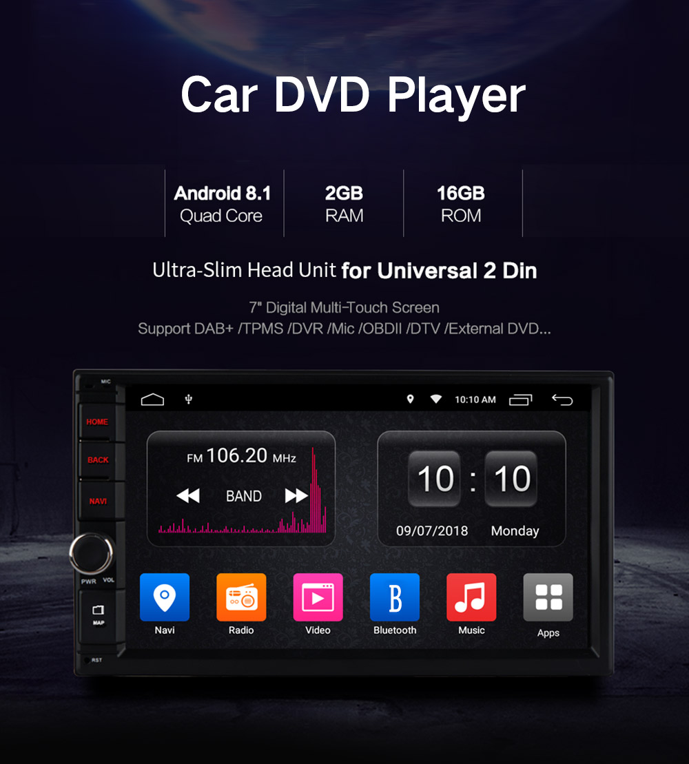 Ownice Ol 7003 Hd 7 Inch Touch Screen Car Dvd Player 21359 Diagram Electronic Canary Also Iso Din Connector Wiring 2 Quad Core
