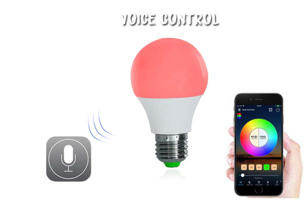 Intelligent Remote Control Color-changing Lamp Bulb