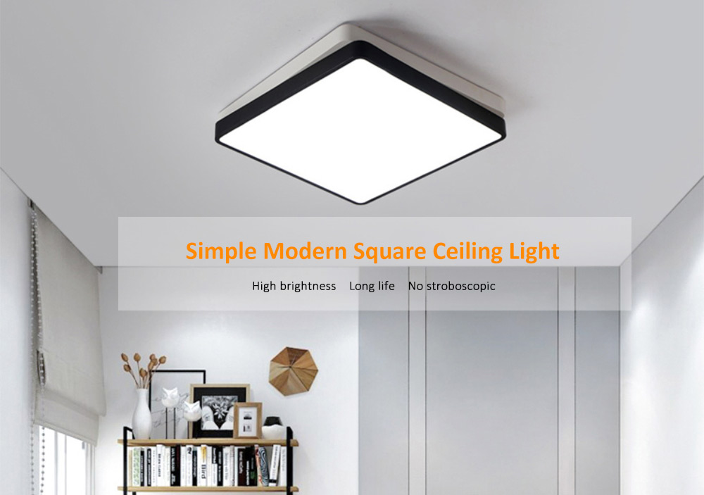 Pze 907 Xdd Simple Modern Square Ceiling Light