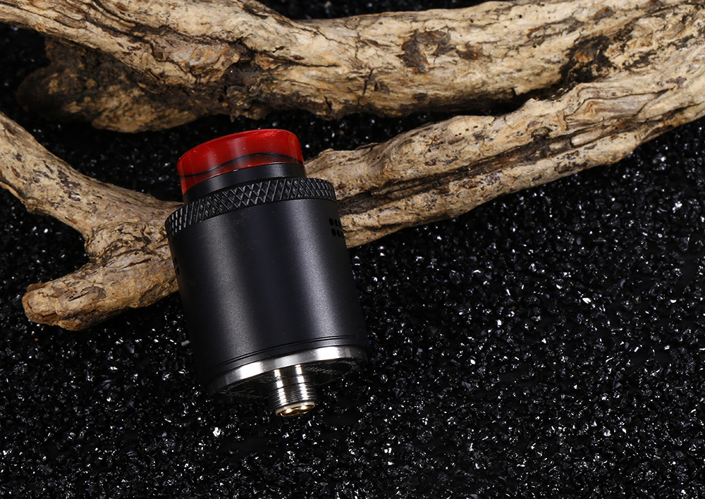 Hellvape DROP DEAD RDA with Side Airflow Control- Black