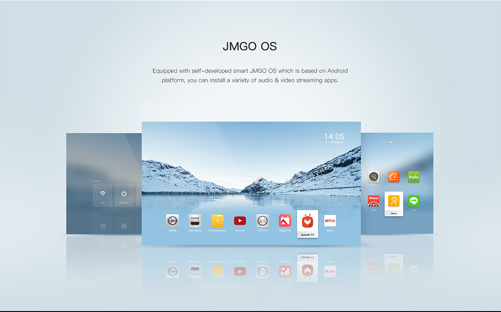Customized Android OS by JMGO