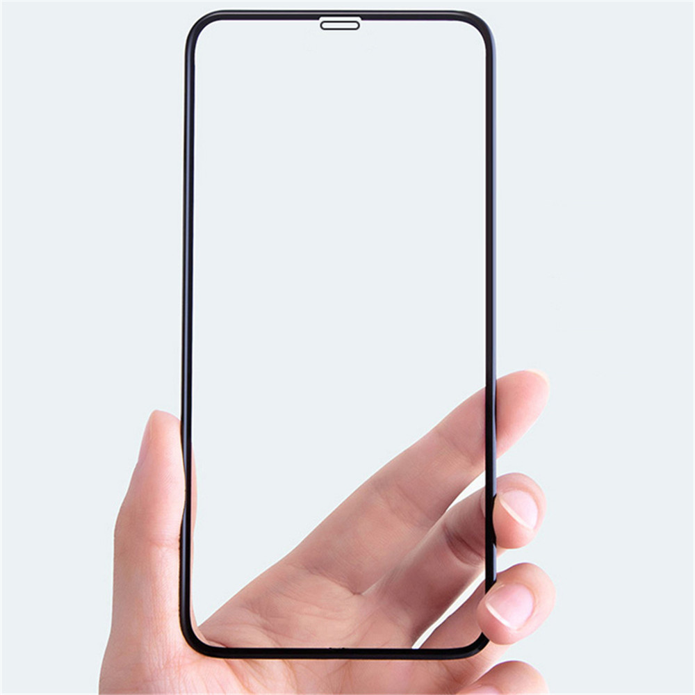 Tempered Glass Full Screen Protector for iPhone XS- Black