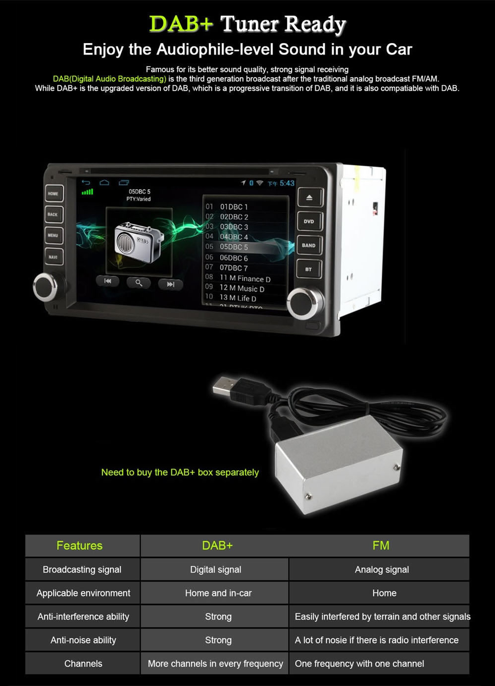 Ownice S7606 6 95 inch Universal Car DVD Stereo Player for Toyota