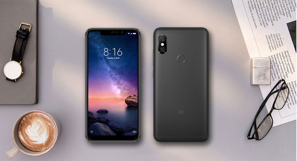 Xiaomi Redmi Note 6 Pro 4G Phablet 6.26 inch Android 8.1 Qualcomm Snapdragon 636 Octa Core 1.8GHz 3GB RAM 32GB ROM 12.0MP + 5.0MP Rear Camera Fingerprint Sensor - Denim Blue