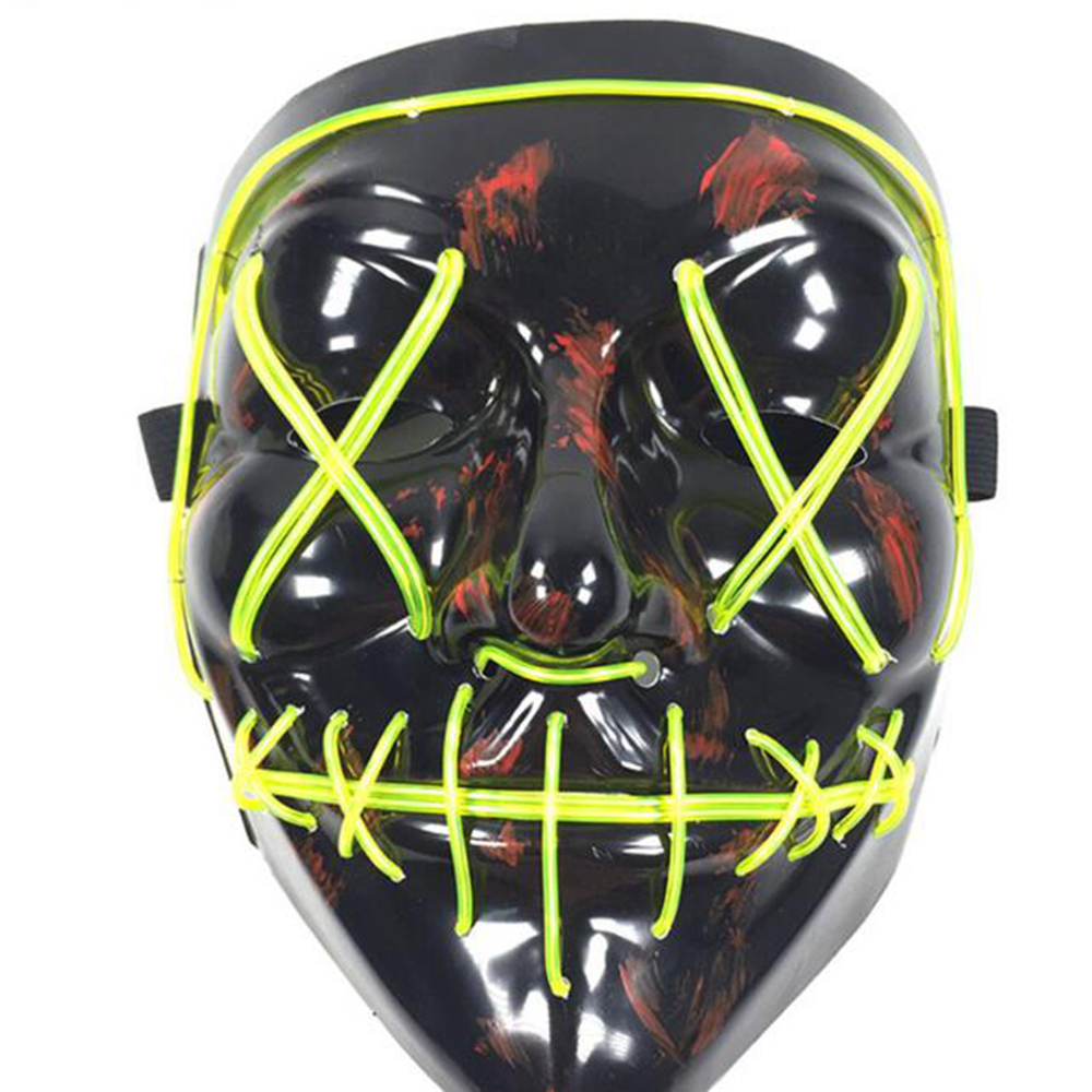 halloween mask led light up party masks the purge election year