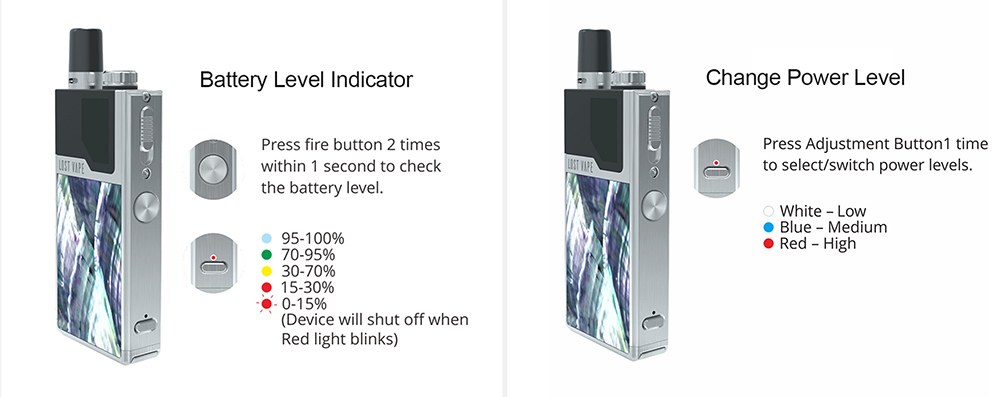 Lost Vape Orion DNA GO AIO Pod Kit with Built-in 950mAh Li-ion Battery- Silver