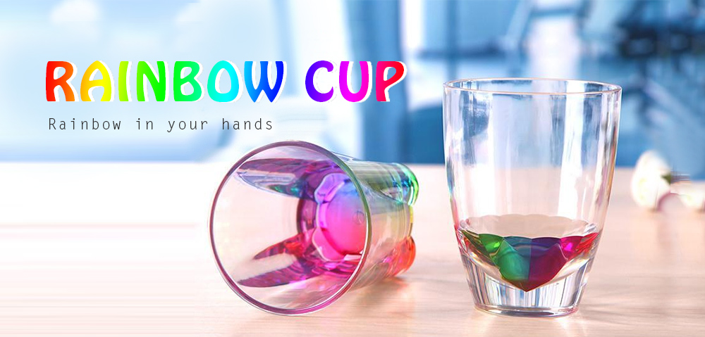 Seven-color Rainbow Cup - Multi