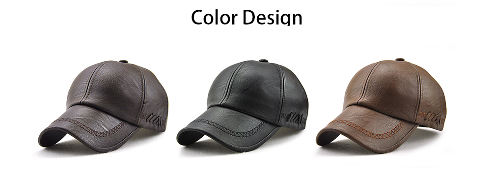 8fe70c3f442 12965 New Outdoor Leisure Warm Middle-aged Cap for Men- Deep Coffee