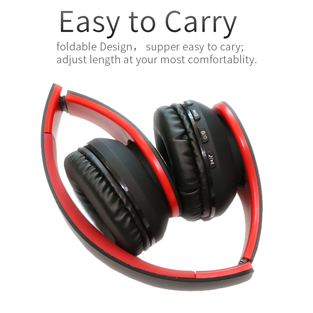Wireless Bluetooth Headphone with MIC Build in 4MODE EQ Super Bass Support  TF | Gearbest Mobile