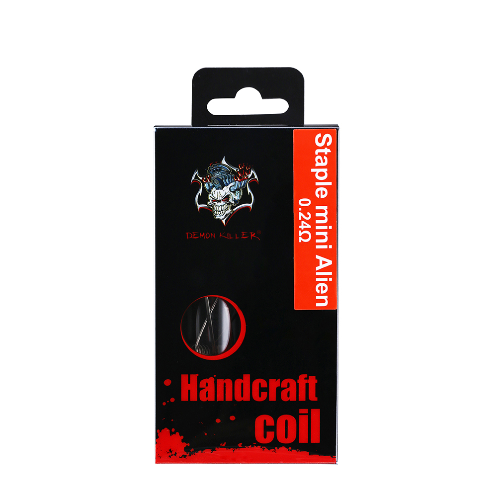 Demon Killer Handcraft Coil Ni80 Staple Mini Alien Package