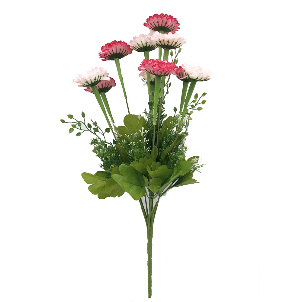 Home Decoration Branch of Artificial Flowers- Multi