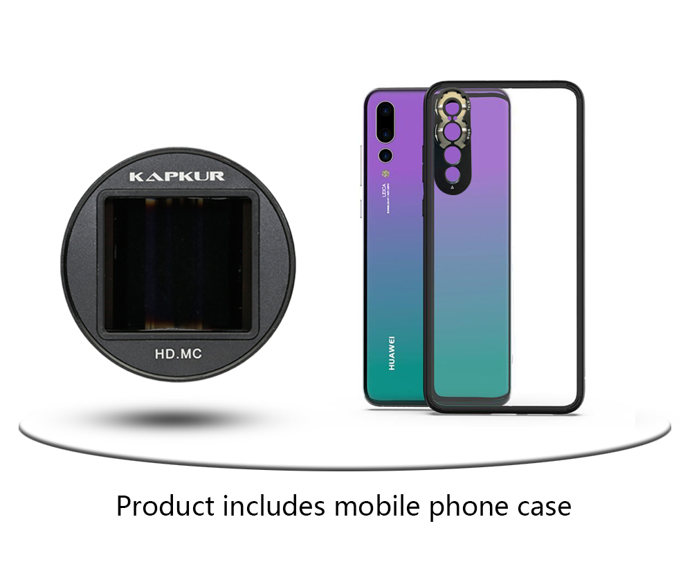 KAPKUR Anamorphic Lens 2 4-1 Widescreen Film Making 1 33X for Huawei P20 PRO