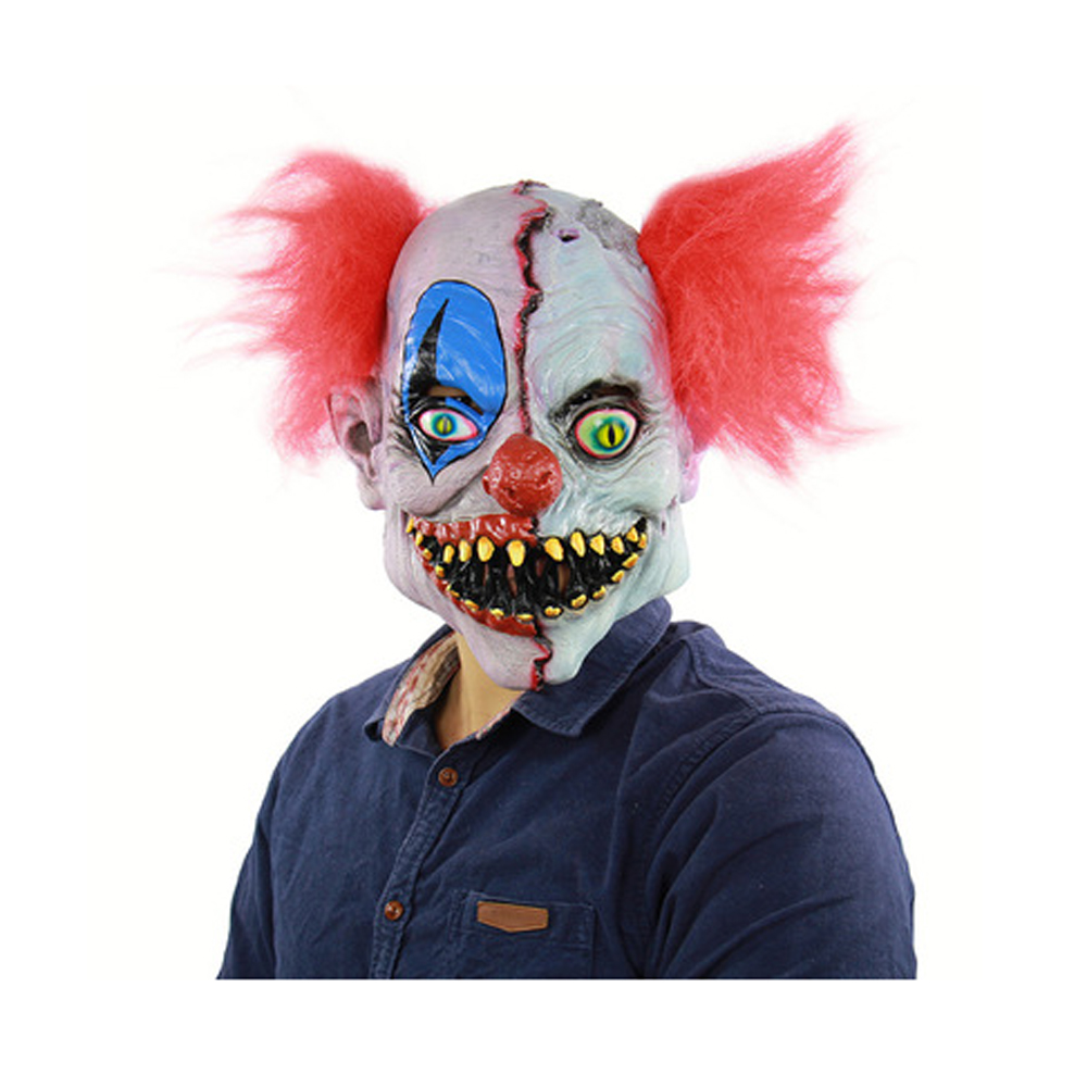 The Macabre Face Clown Latex Ghost Mask- #005
