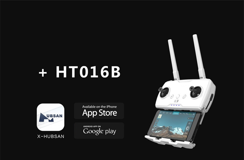 Hubsan H117S Zino GPS 5.8G 1KM FPV with 4K UHD Camera 3-Axis Gimbal RC Drone Quadcopter UAV- RTF- White