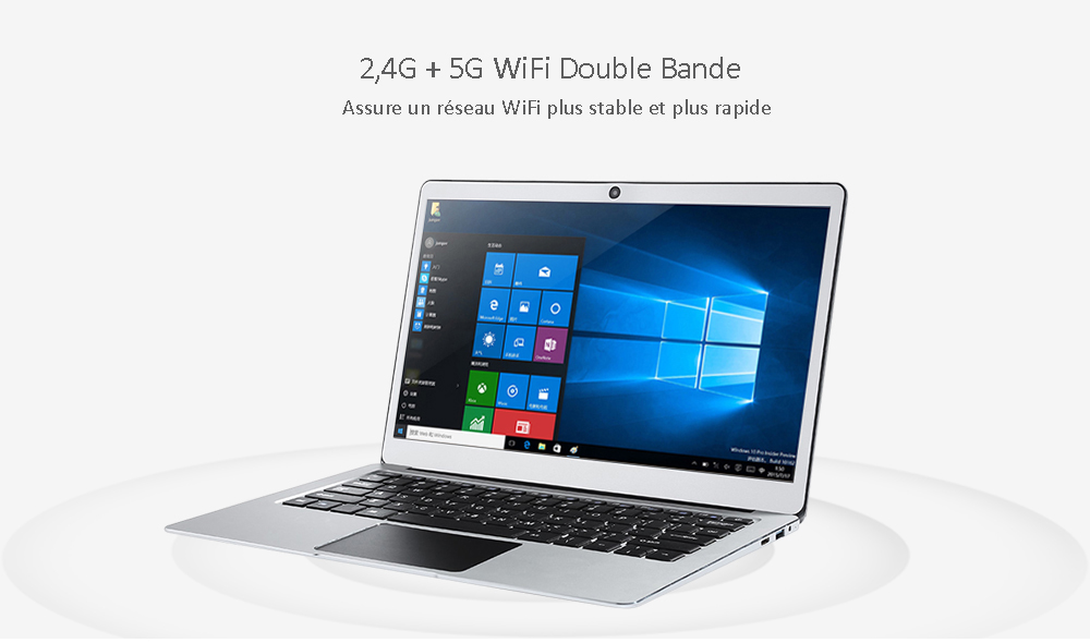 Jumper EZBOOK 3 PRO Notebook- Silver 64GB + Dual WiFi