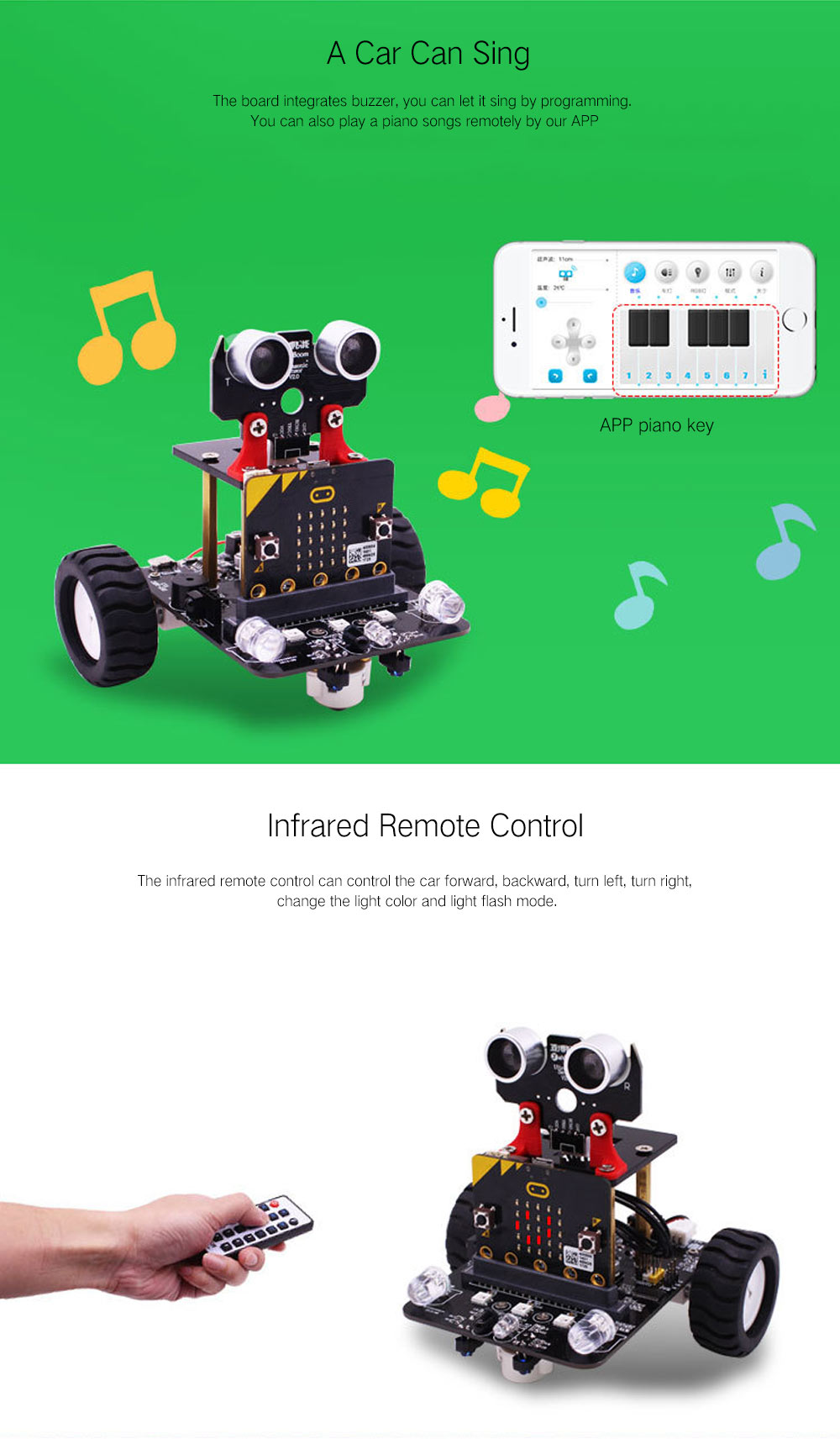 Yahboom Smart Robot Car Kit for Kids BBC Programmable Toys