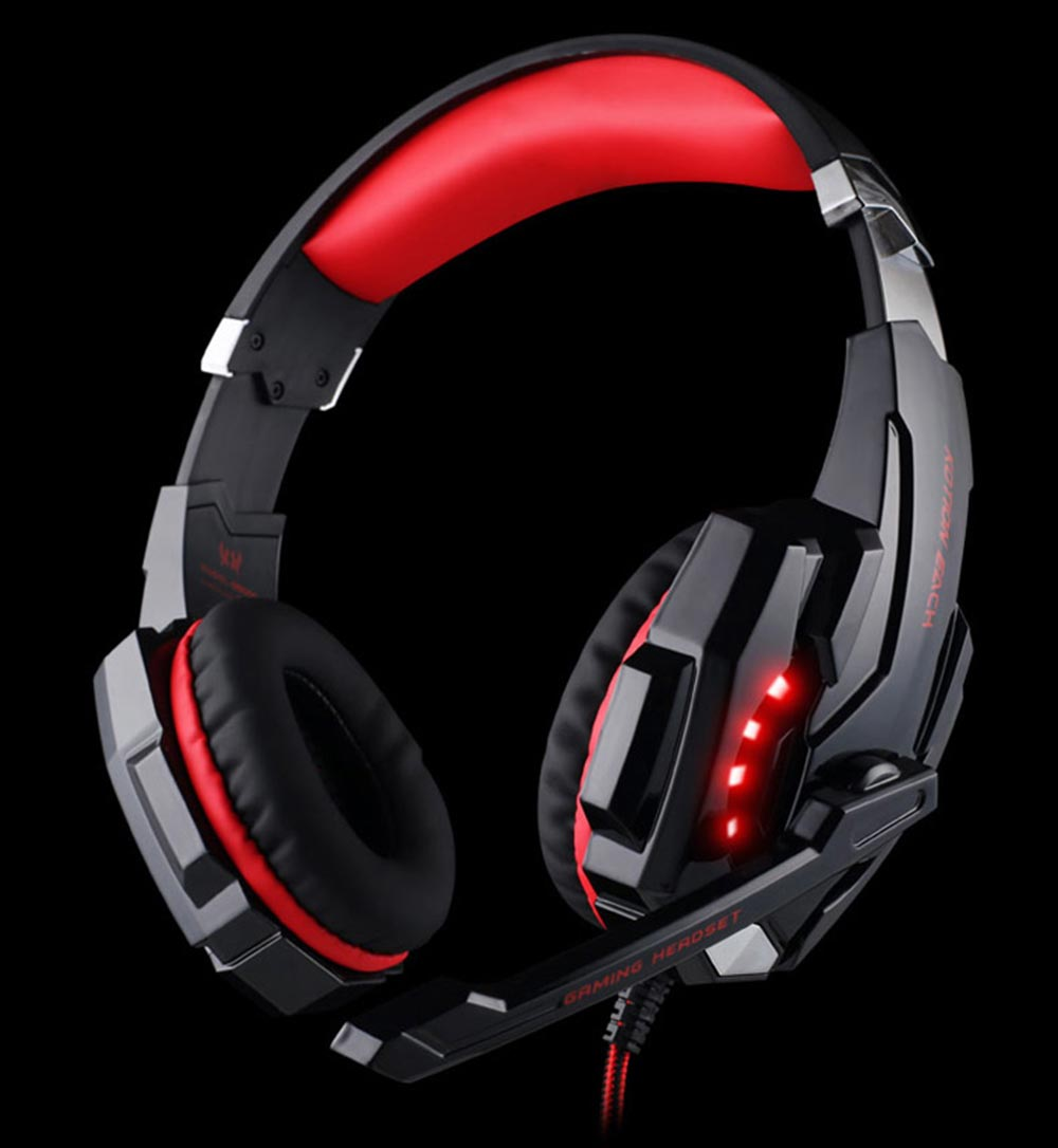 KOTION EACH G9000 3.5mm USB Gaming Headset Over Ear Headphones for PS4