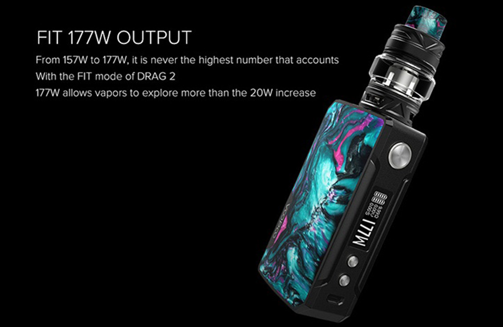 Voopoo Drag2 Resin Version Electric Cigarette Kit Set