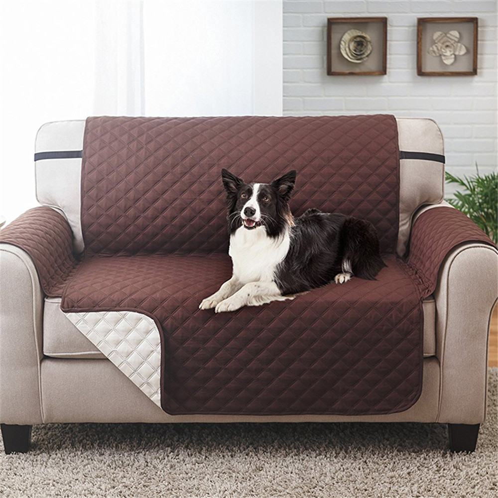 Astonishing Double Seater Couch Coat Reversible Waterproof Slipcover Sofa Cover For Kids Lamtechconsult Wood Chair Design Ideas Lamtechconsultcom