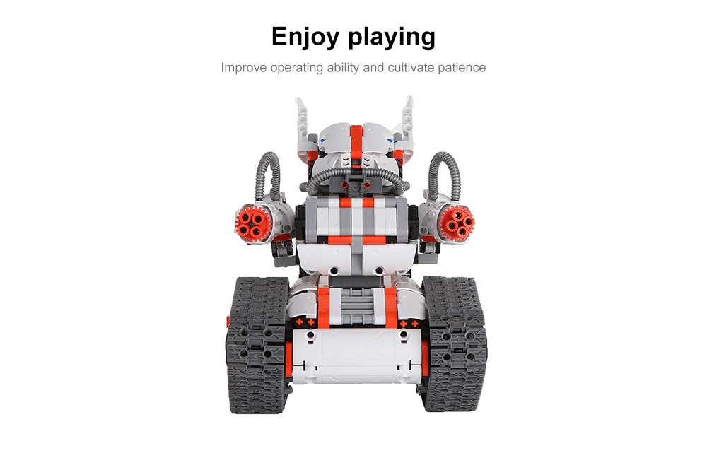 MITU Mi Bunny Robot Building Block Set Battery-powered Intelligence Toy- White