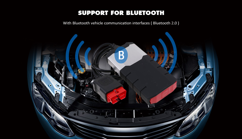 CDP DS150E 2015R3 OBD Vehicle Bluetooth Auto Check Scan Tool