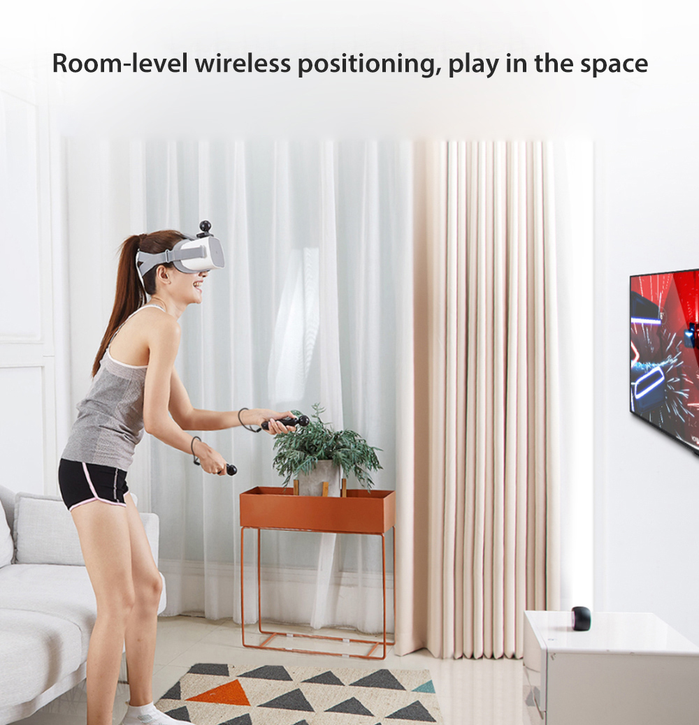 e6e6c4216594 NOLO CV1 VR Headsets Interactive Accessories Console Controllers 3D Virtual  Reality System Set Game Station Motion