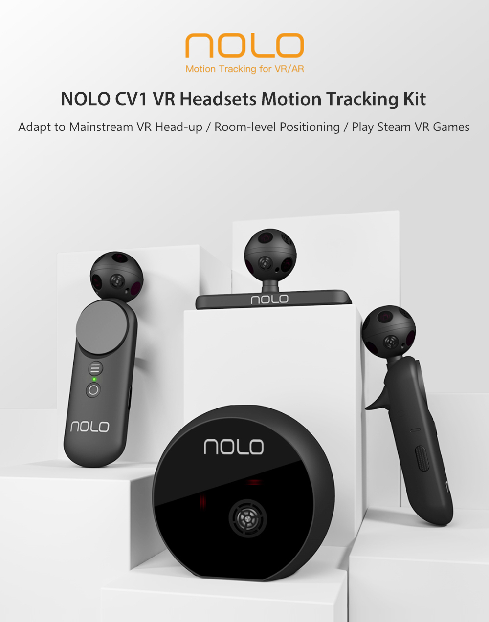 NOLO CV1 VR Console Controllers Motion Tracking Kit for Mobile and PC