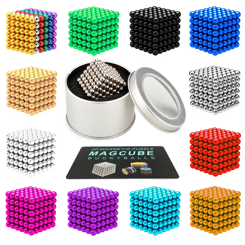 216pcs 3mm Diy Magnetic Balls Spheres Beads Magic Cube Magnets Tiara Boat Wiring Diagram Puzzle Toy Light Blue