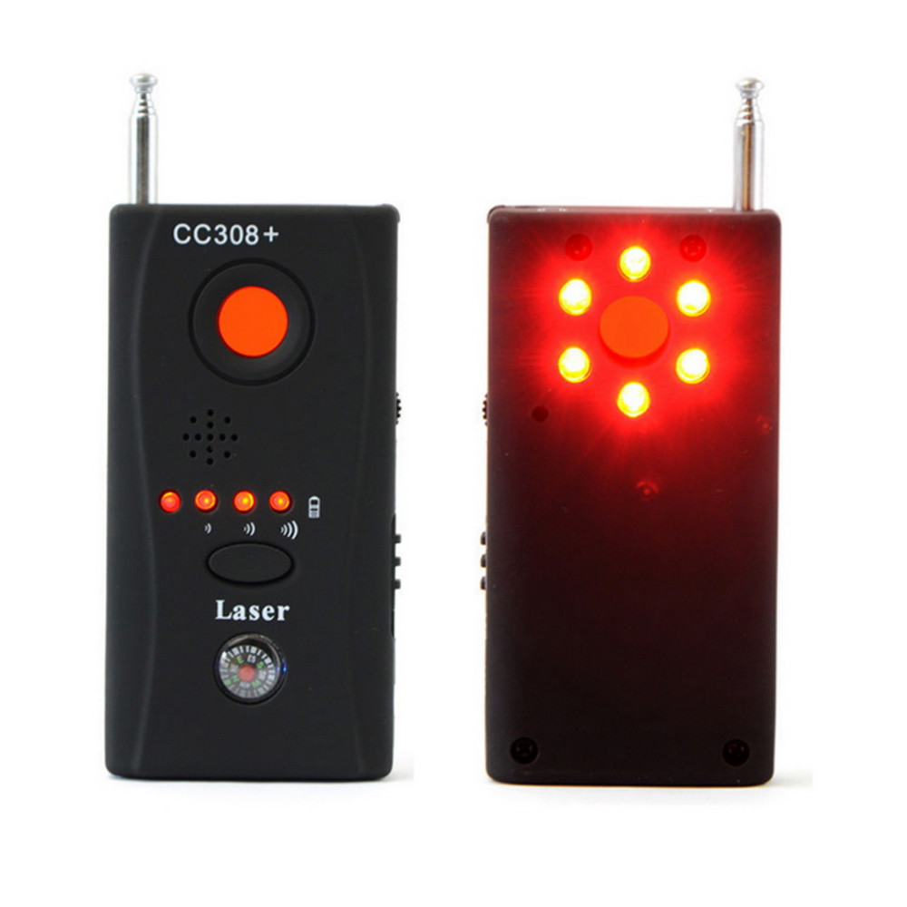 CC308 Mini Privacy Protect Security Full Range Anti - Spy Bug Detector